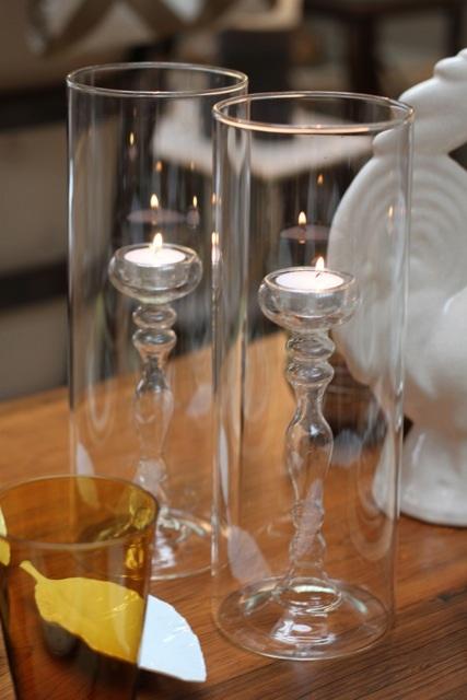 hurricane, candle, glass